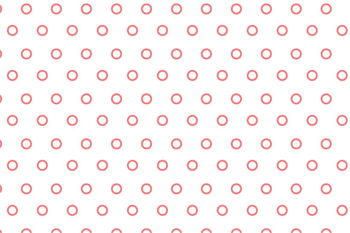 Dotted seamless patterns. Vector set example image 10