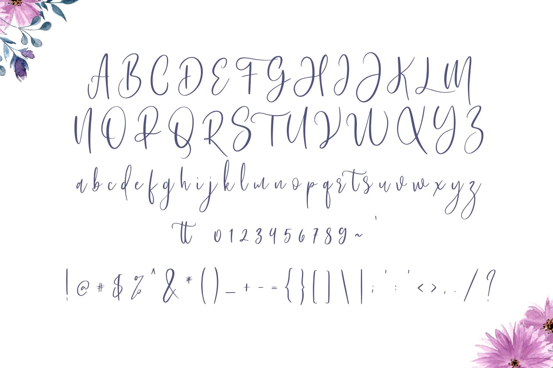 Bashira Brush Script example image 3