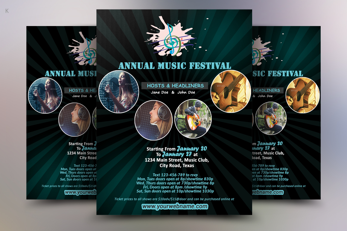 Music Flyer example image 2