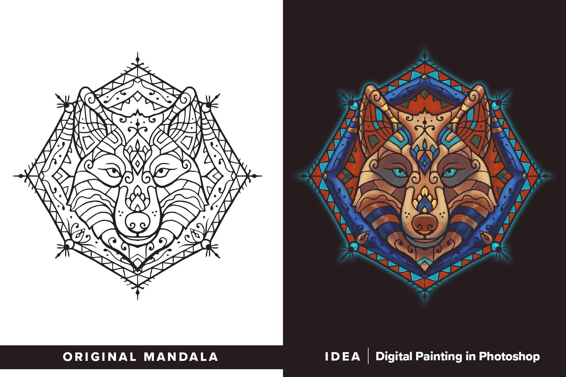 300 Vector Mandala Ornaments example image 27