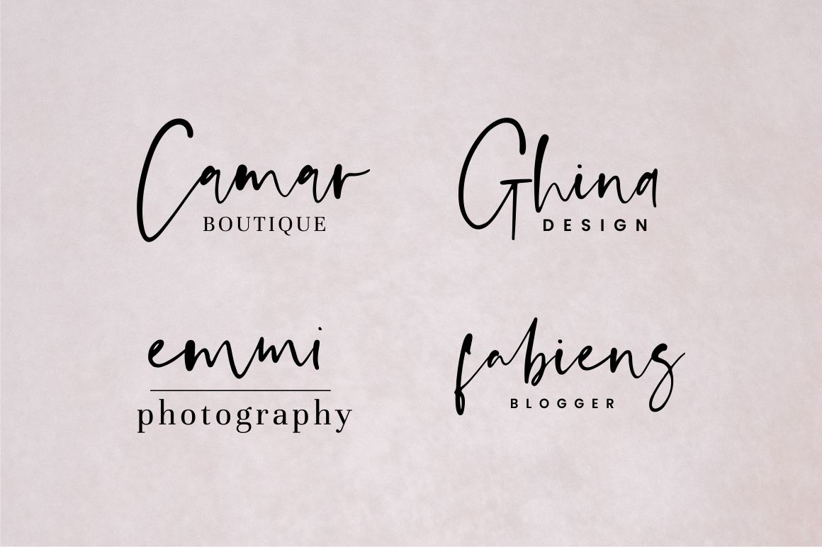 Anastacy - Handlettered Font example image 8