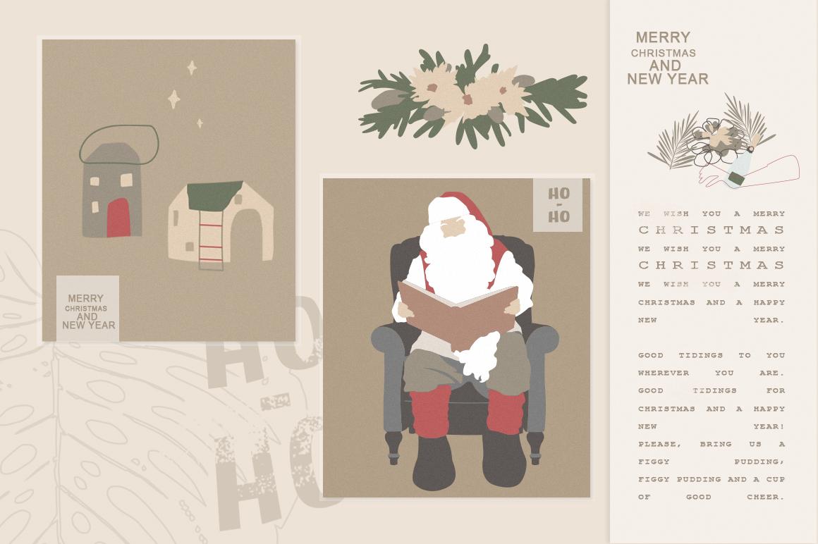 Christmas Secret Modern Graphic Set example image 9