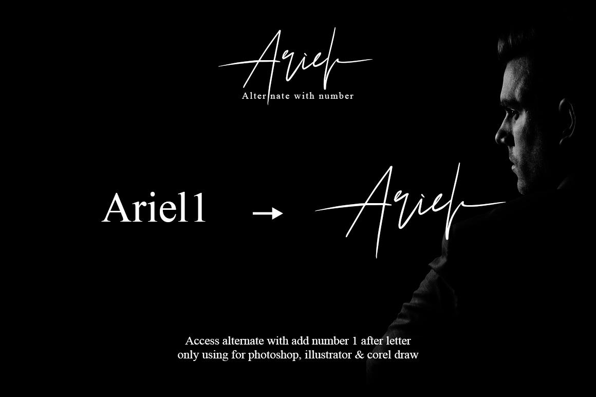 Ariel Signature example image 7