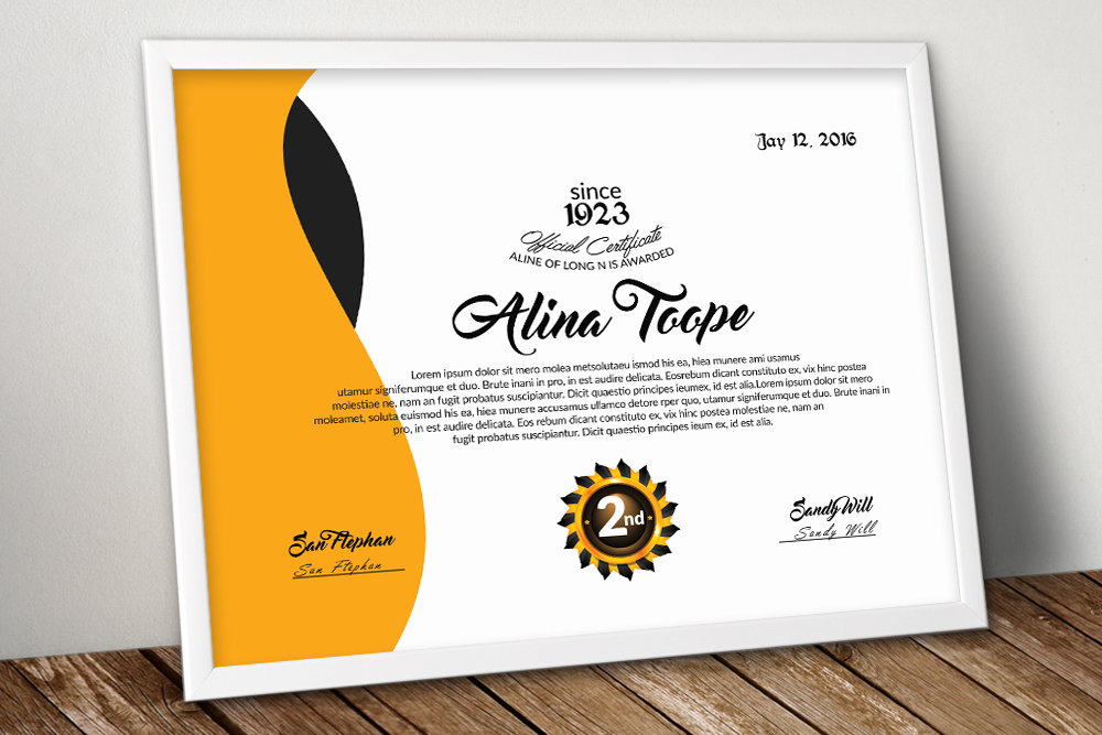 10 Certificates Template Bundle example image 10
