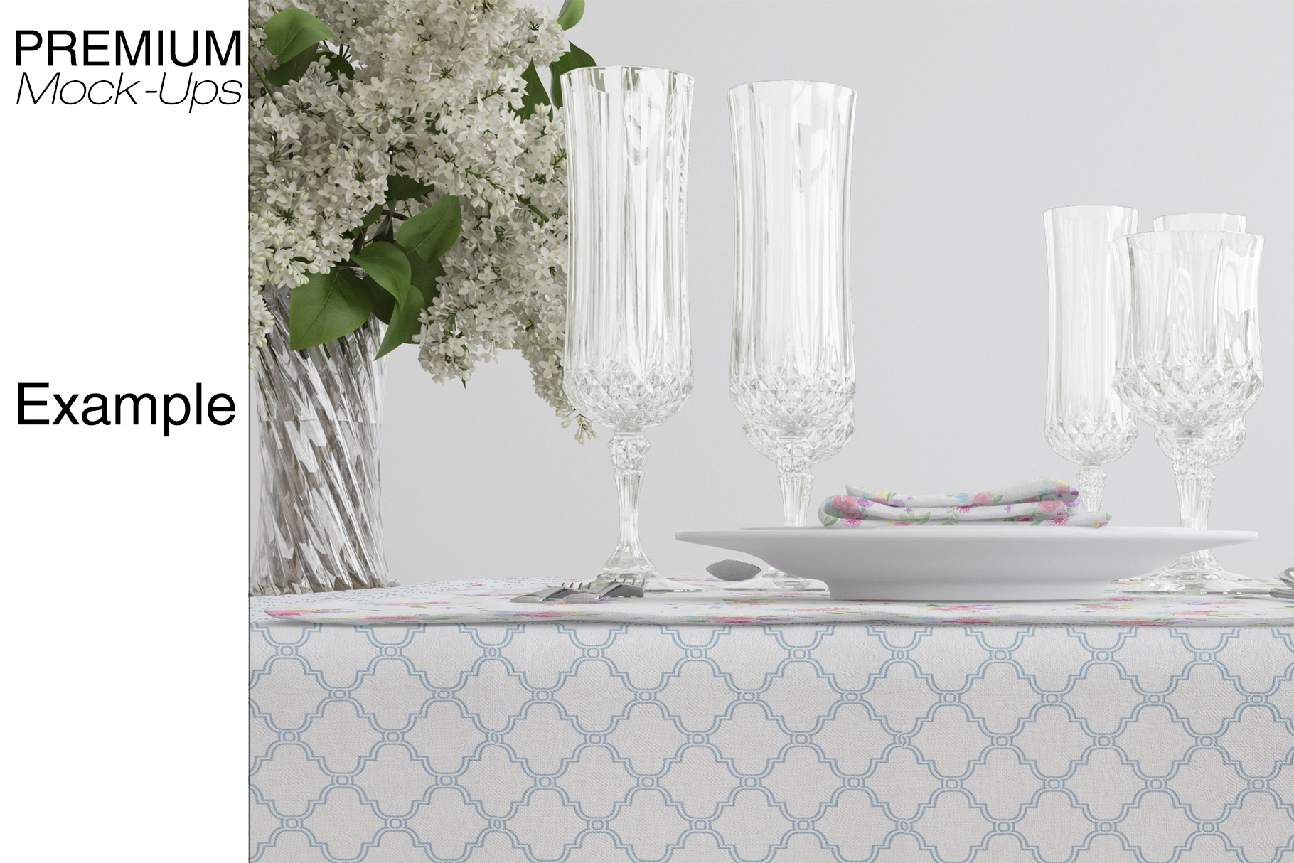 Tablecloth, Runner, Napkins & Plates example image 16