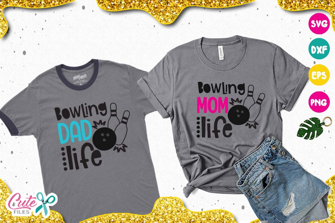 Bowling bundle, for king of the lanes cut files for crafters example image 8
