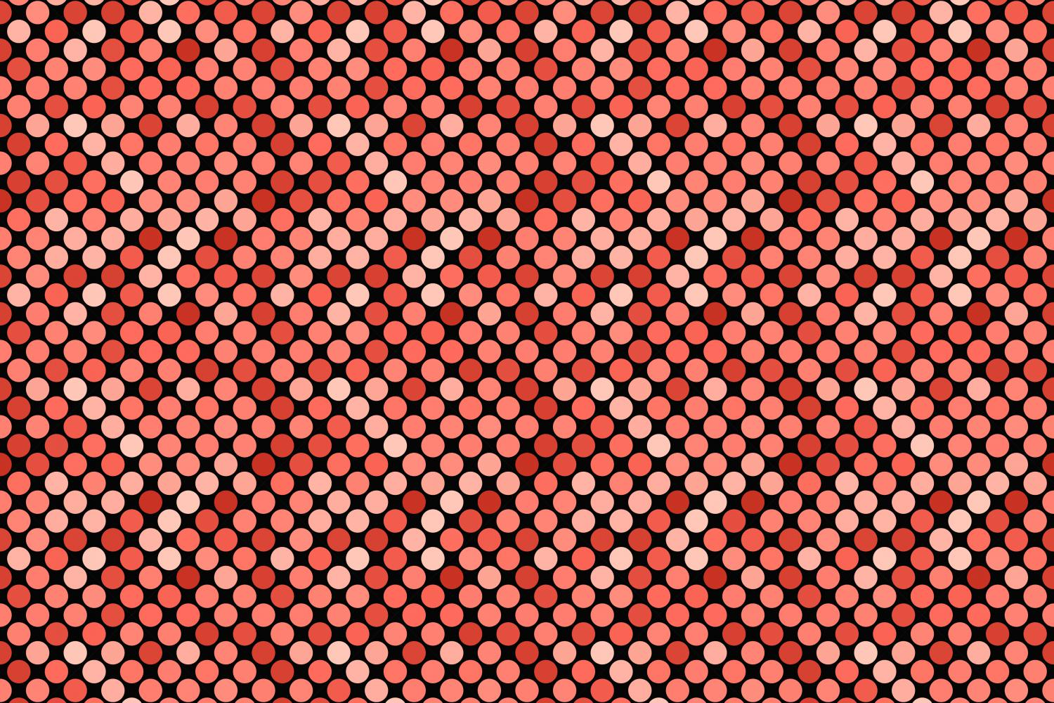 24 Seamless Red Dot Patterns example image 16