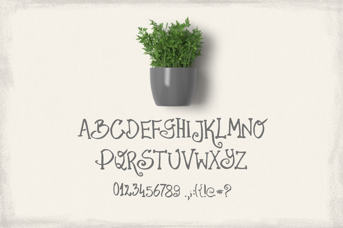 Parsley font example image 6