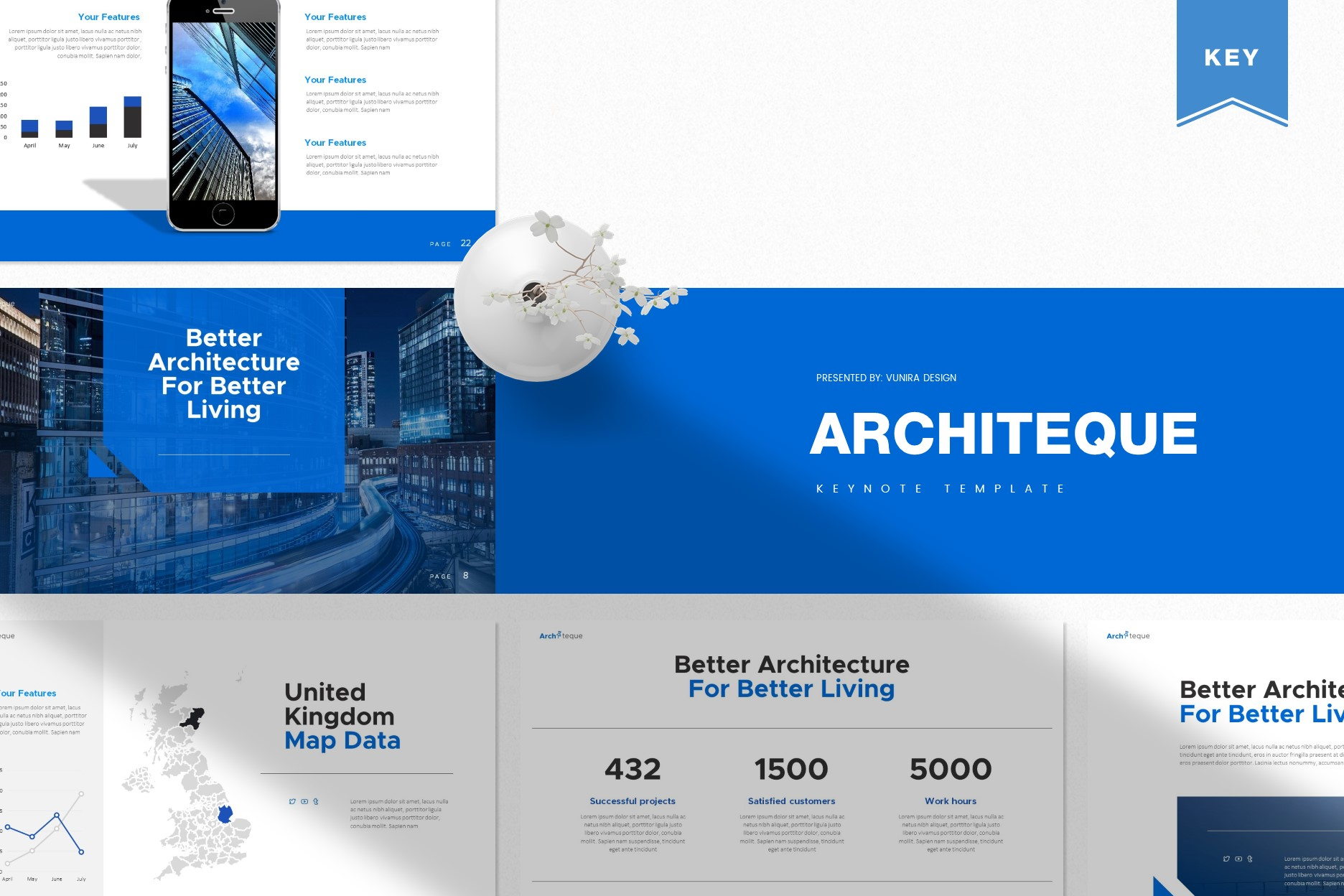 Architeque | Powerpoint, Keynote, GoogleSlides Template example image 1