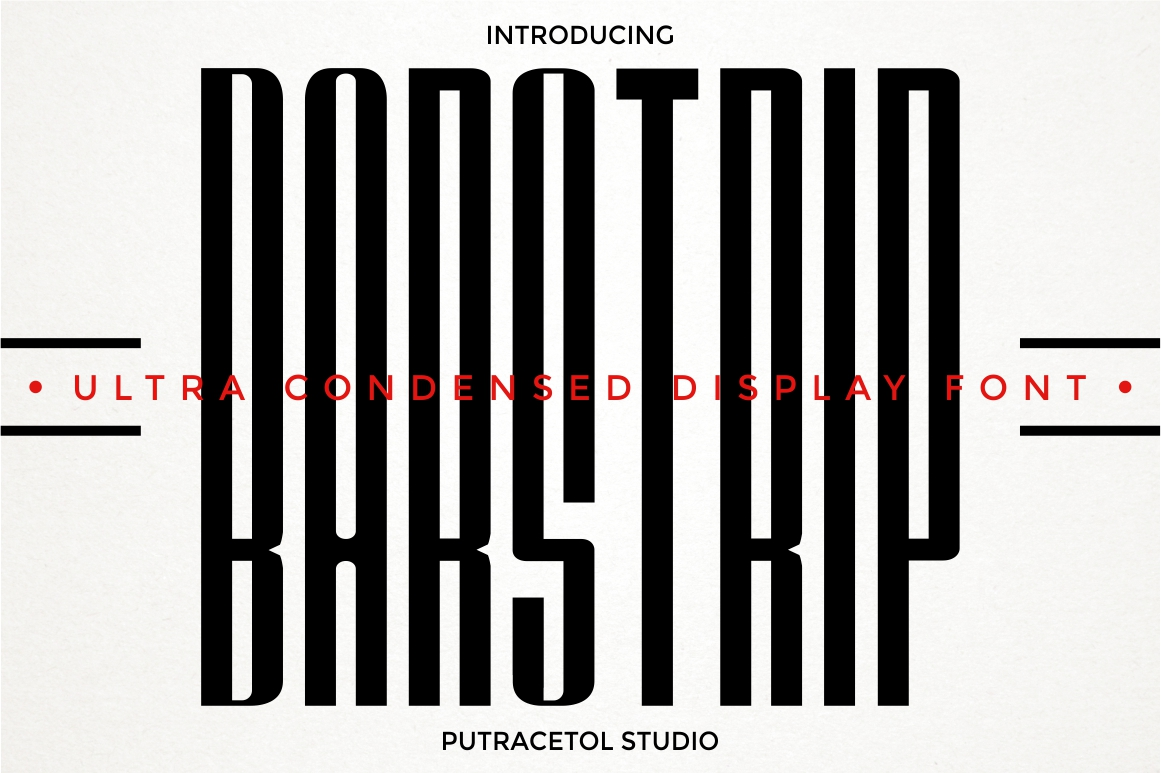 BARSTRIP - Ultra Condensed example image 1