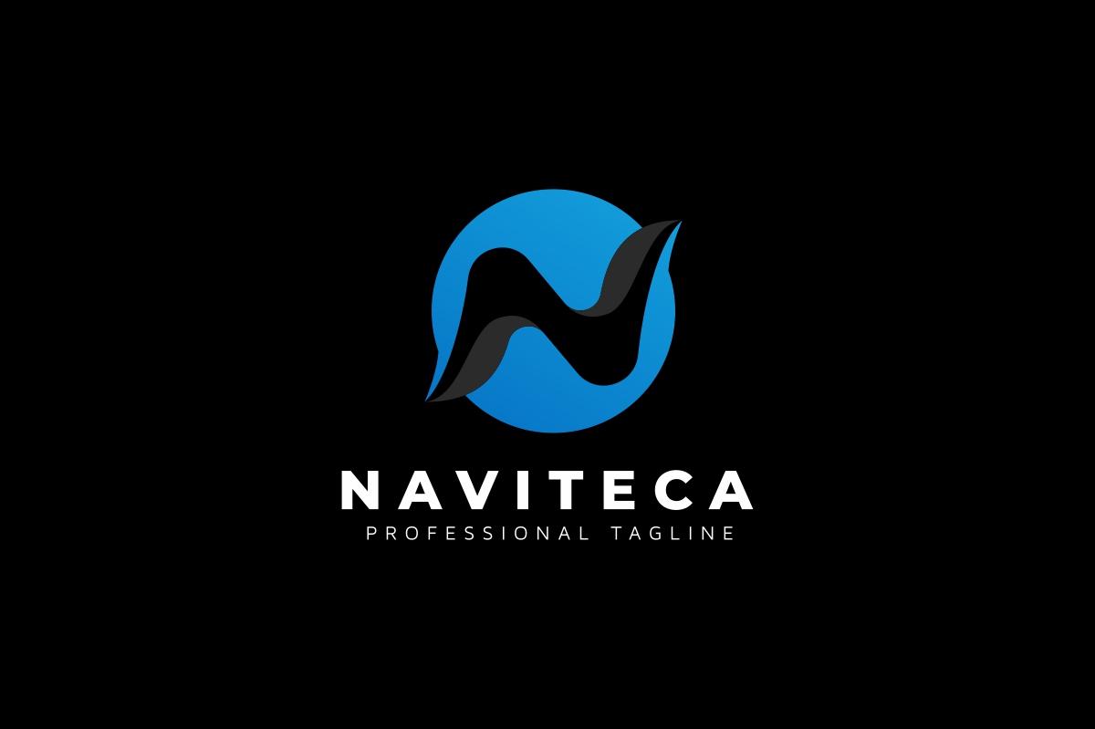 Naviteca / N Letter - Logo Template example image 2
