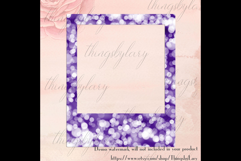 254 Bokeh Polaroid Bridal Shower Photo Booth Photo Frames example image 2