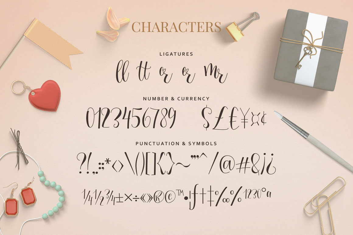 Mellany Typeface example image 4