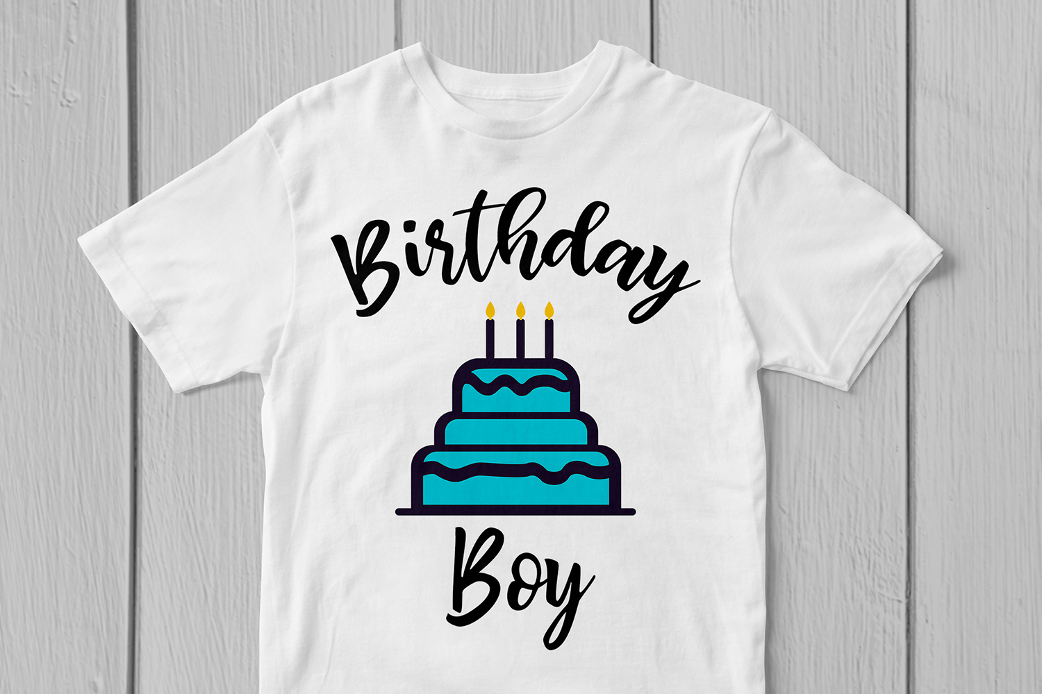Happy Birthday Boy - Birthday SVG EPS DXF PNG Cutting Files example image 2