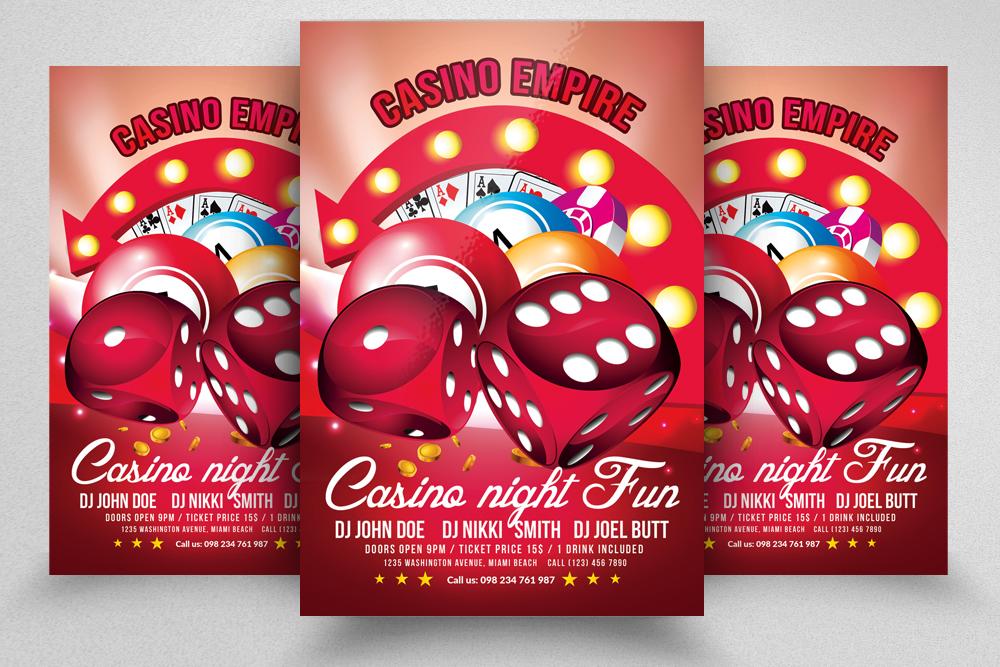 10 Casino Flyers Bundle example image 10