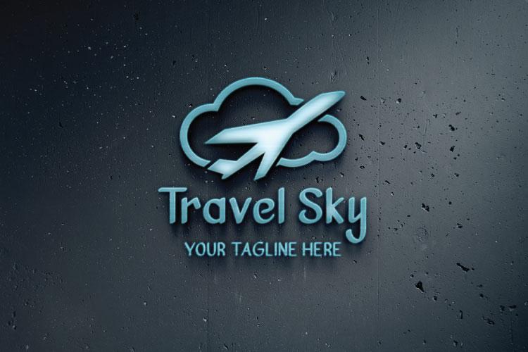 Cloud Shape Logo example image 3