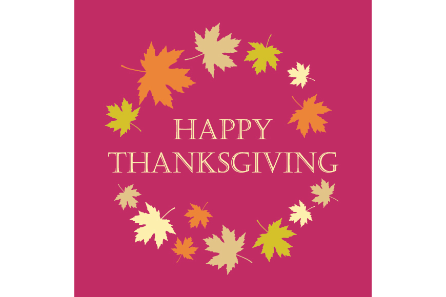 Set of 6 seamless vector backgrounds and 6 posters Thanksgiving Day. example image 4
