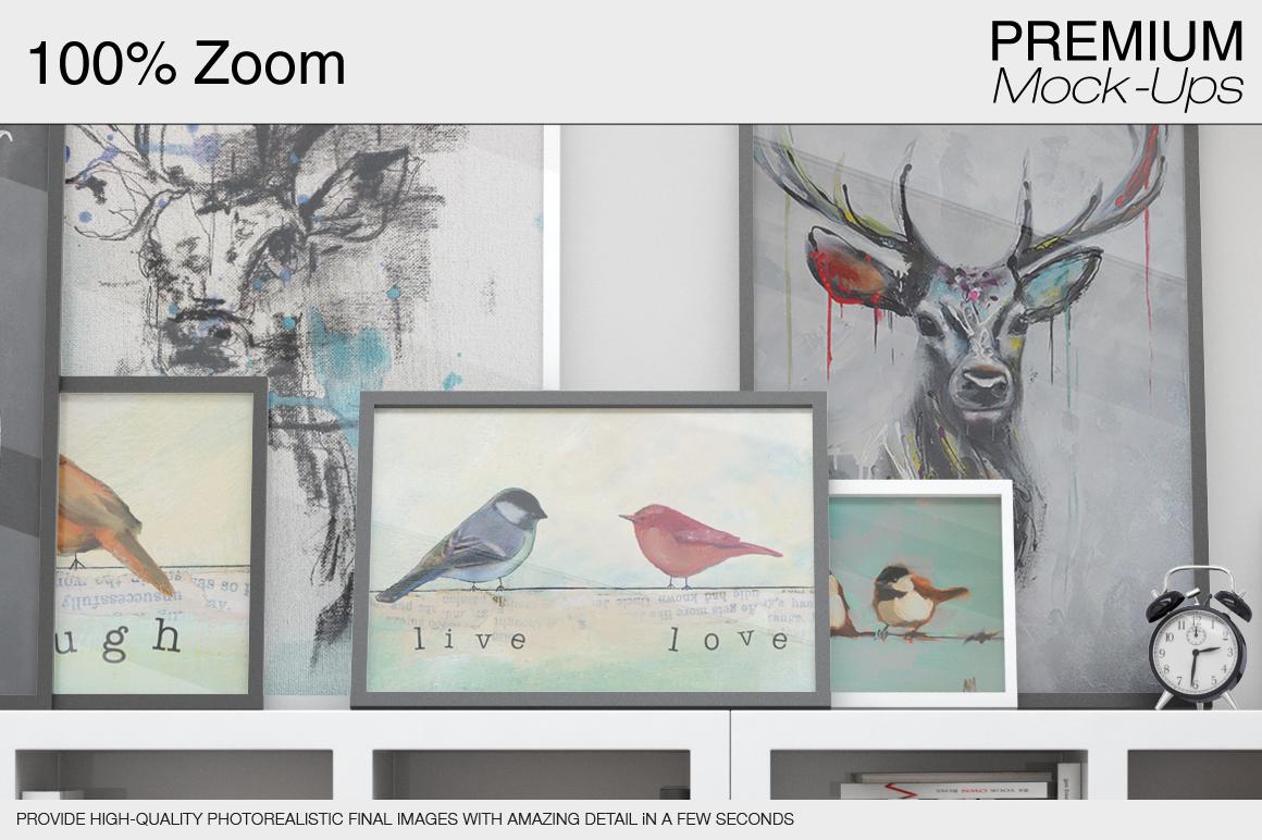 Pillows & Frames Set example image 11
