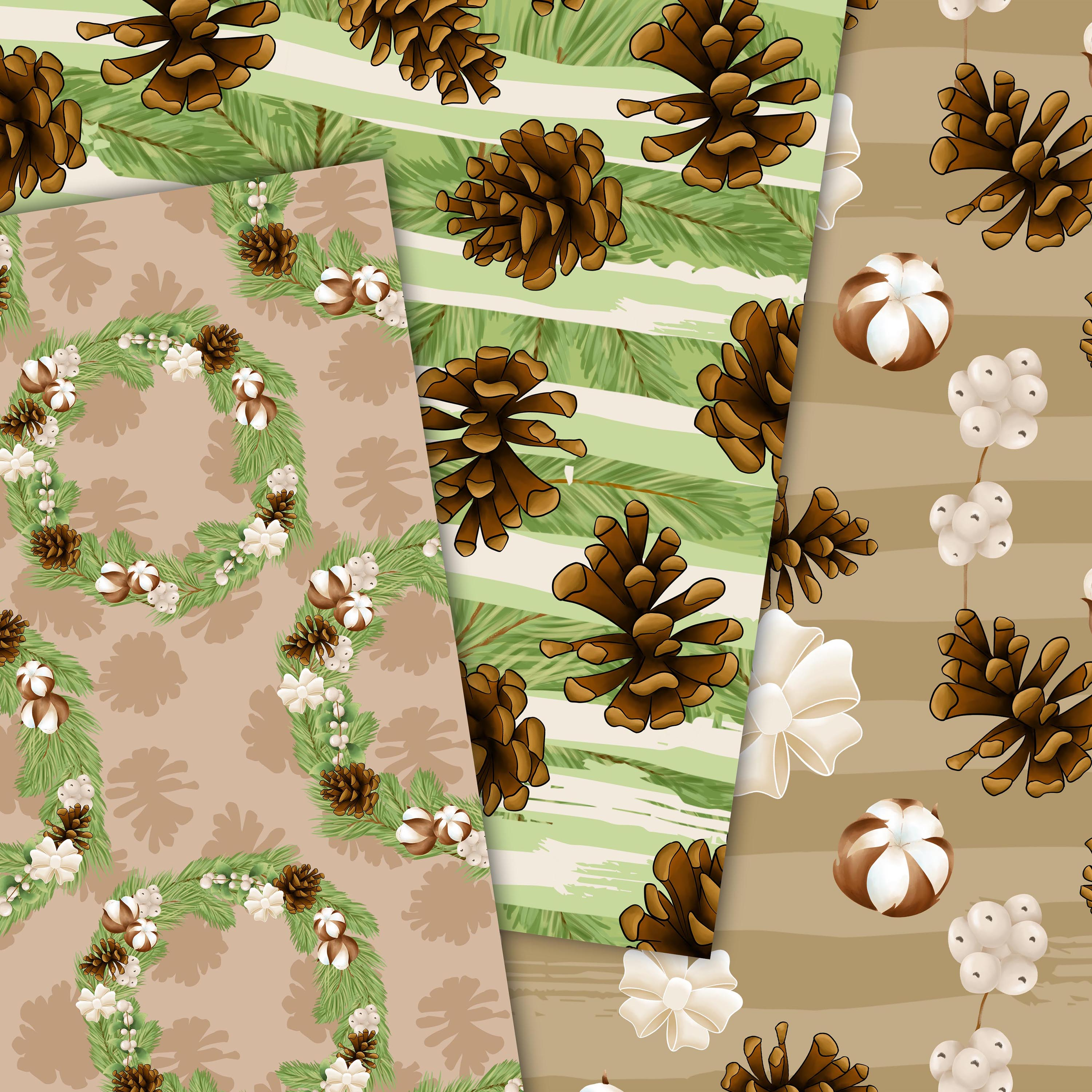 Cotton winter patterns example image 5