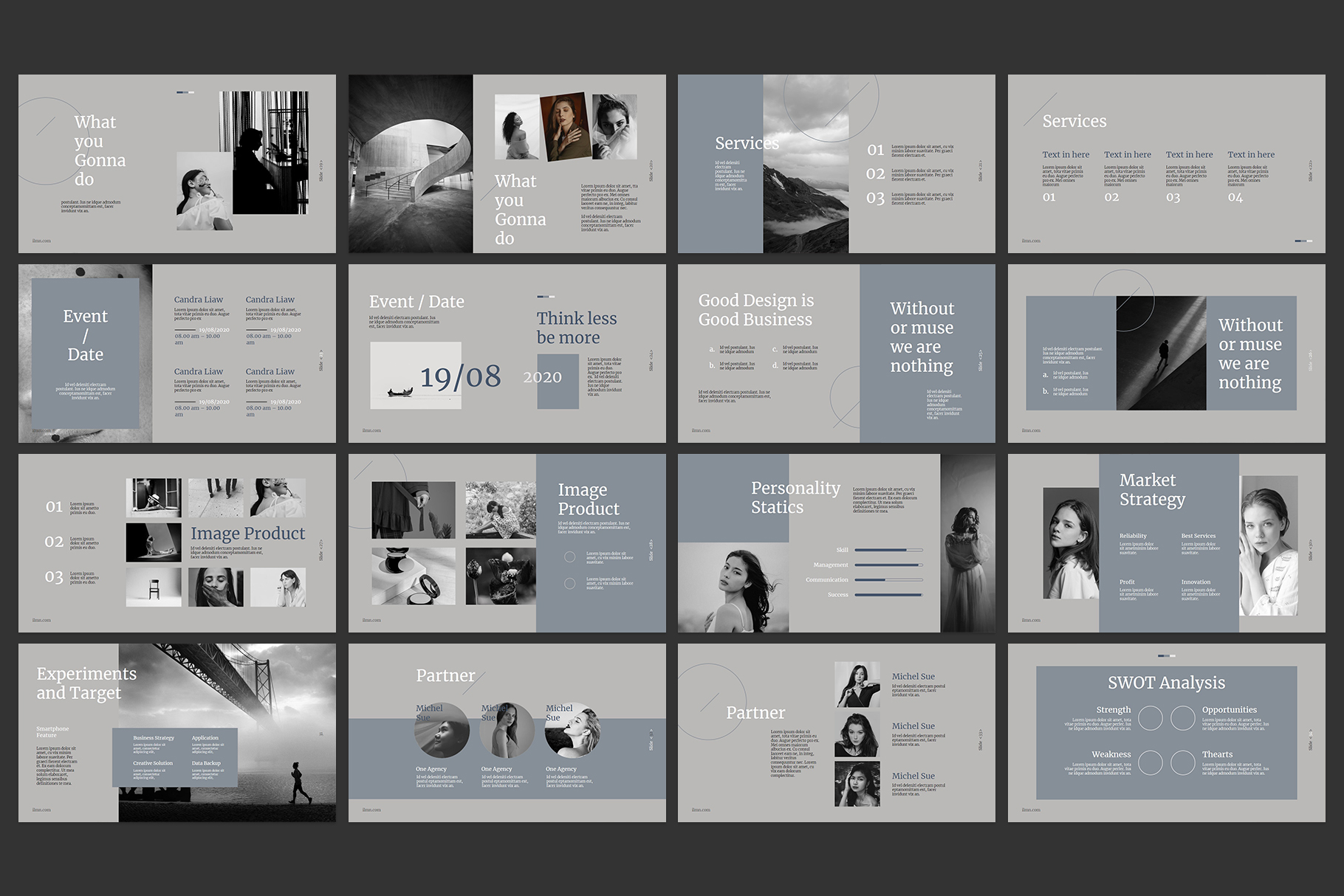 Corporate Powerpoint Templates example image 3