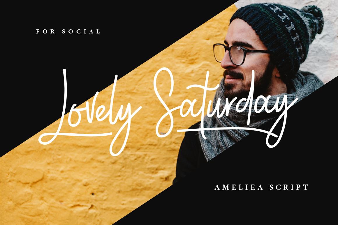 Ameliea Script example image 3