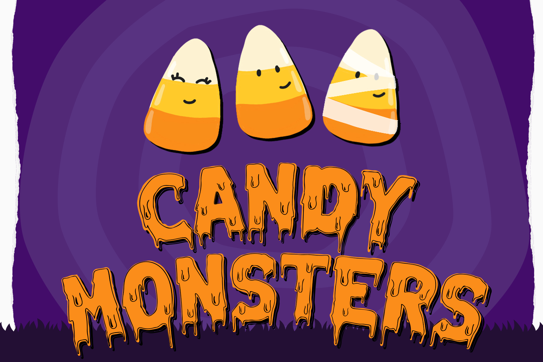Melted Monster - Halloween Pack Layered Font example image 3