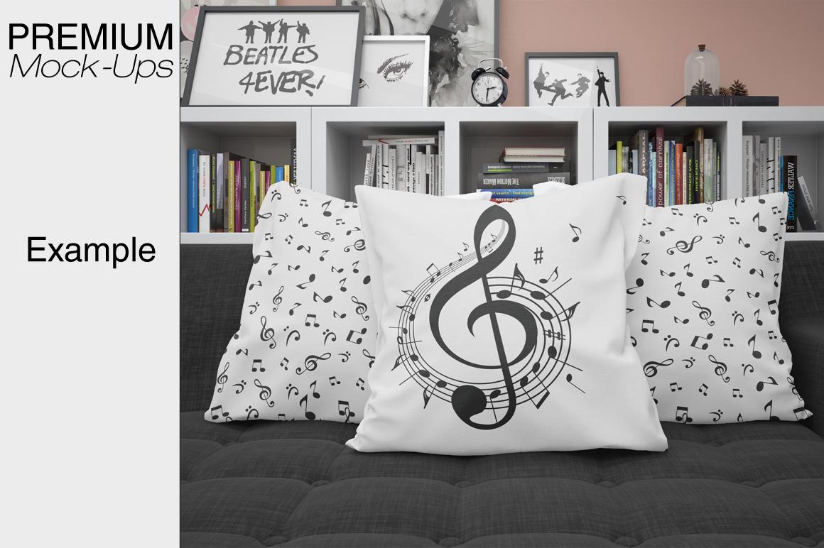Pillows Mockup Set example image 6