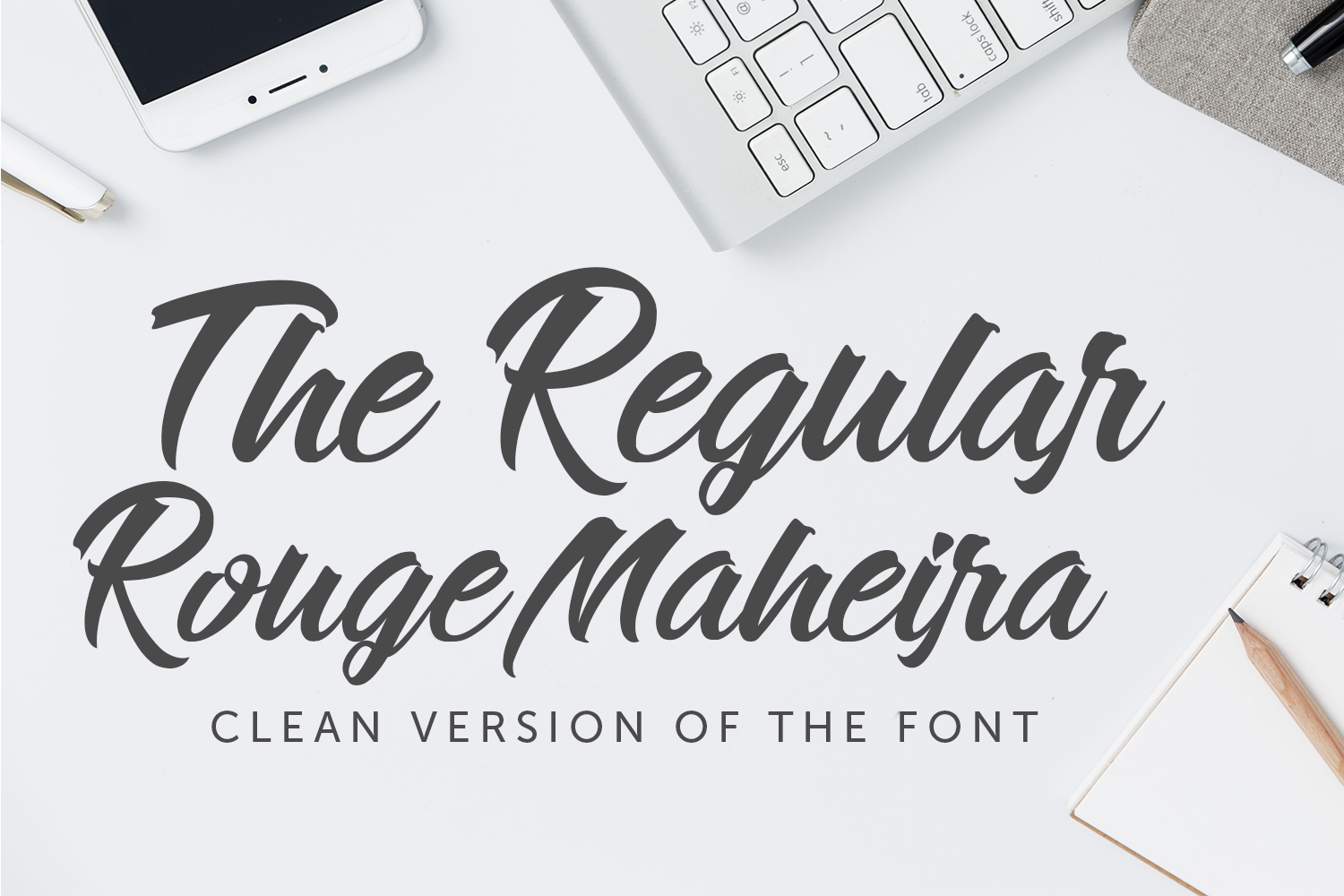 Rouge Maheira (4 font, off 30%) example image 2