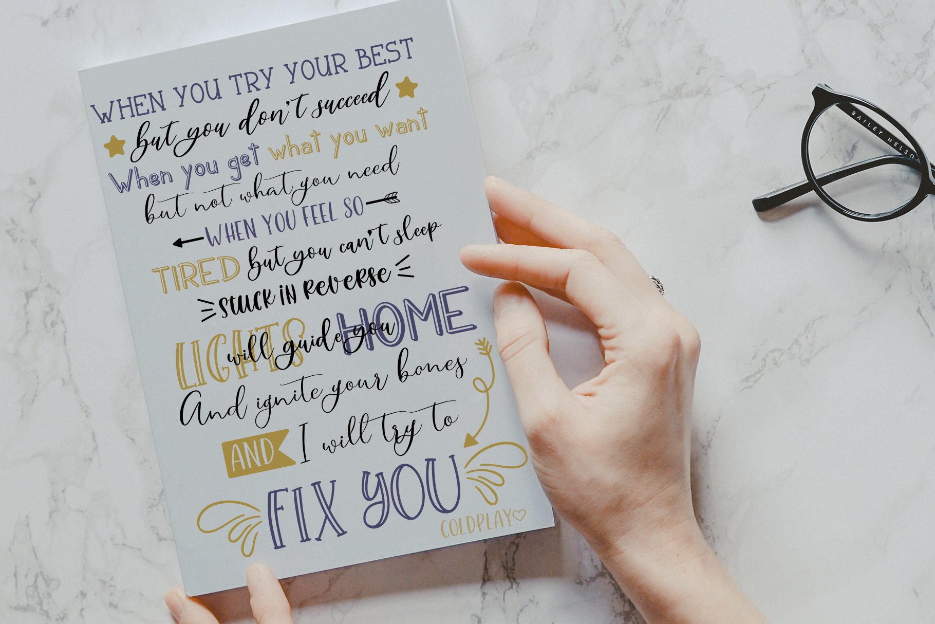 Smooth Handlettering Fonts Collection and Doodles  example image 8