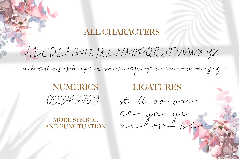 Moriana - Handwritten Script Font example image 8