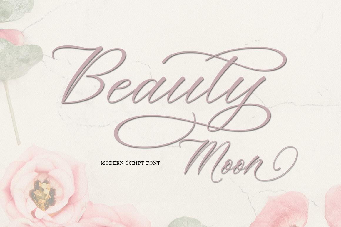 Beauty Moon Script example image 8
