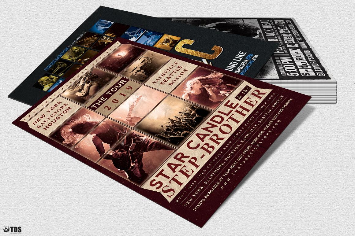 Live Band Flyer Bundle V2 example image 7
