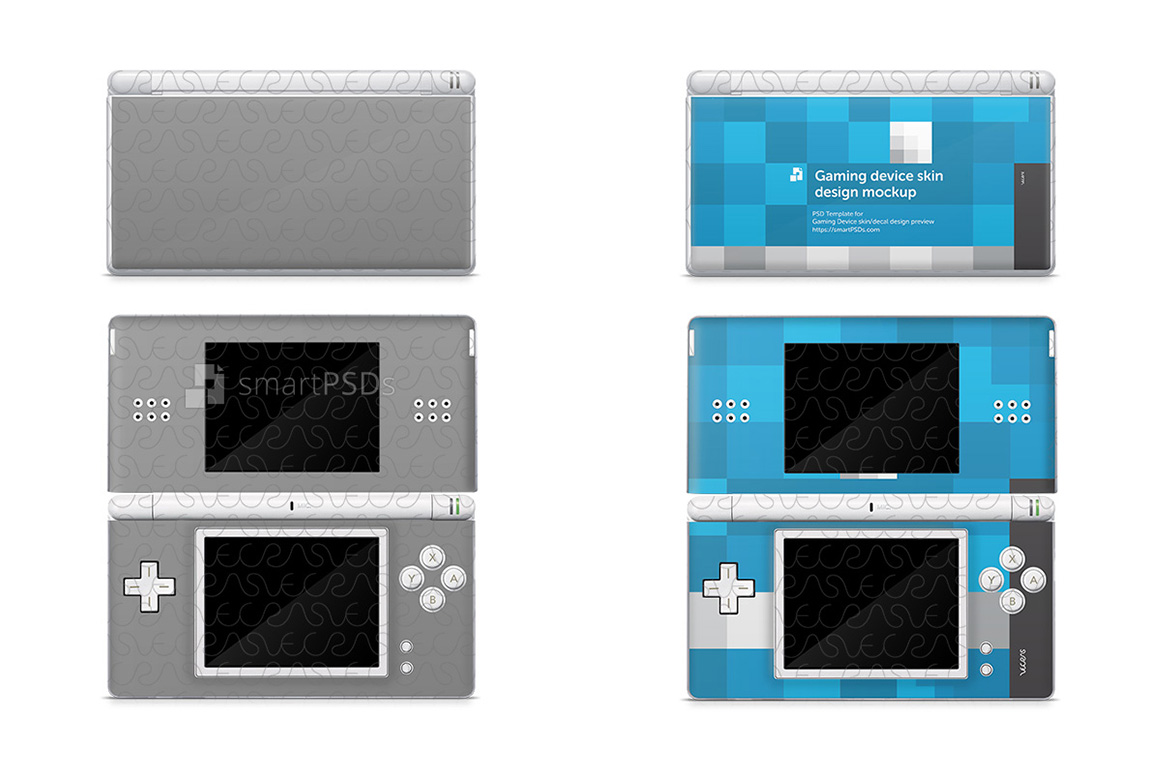 Nintendo DSI Lite Skin Decal Design Template example image 1