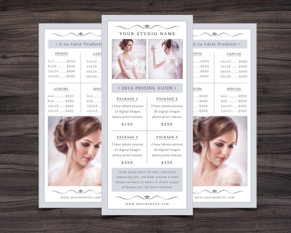 Photography Rack Card Template example image 4