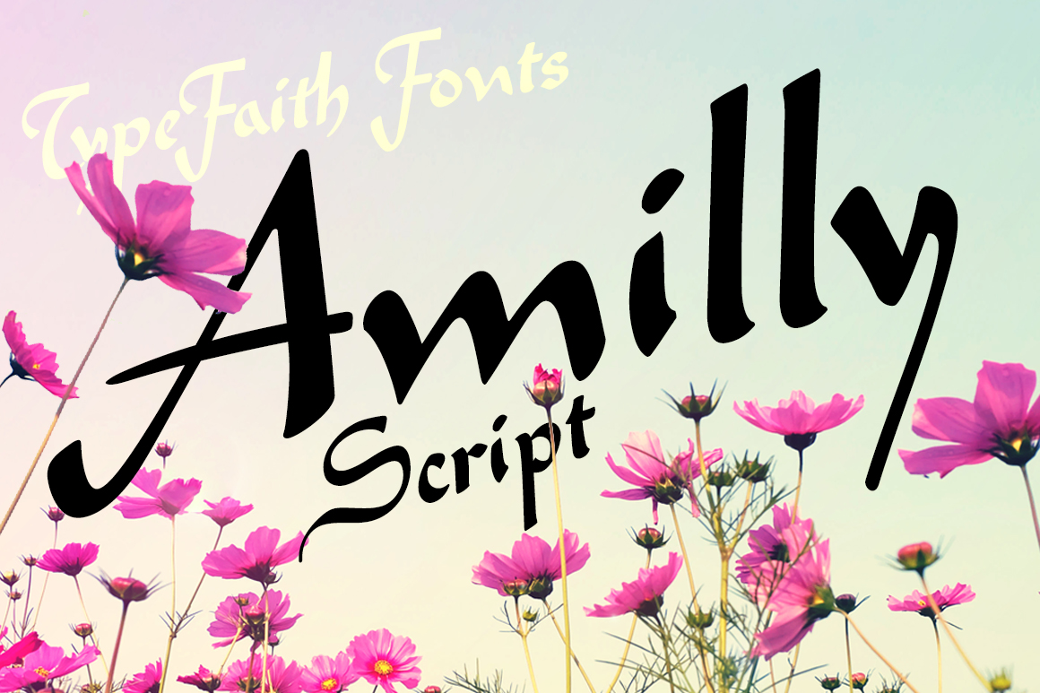 Amilly Script example image 5