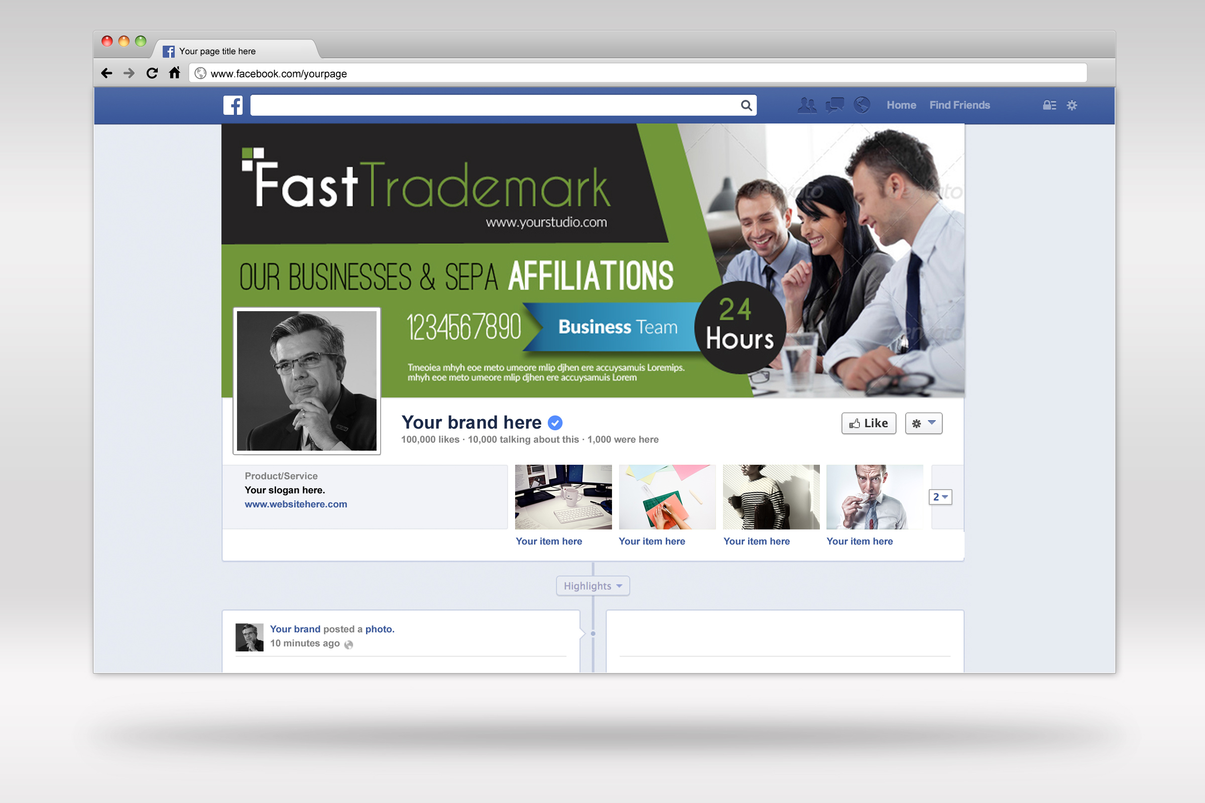 Finance Providing Firm Facebook Timeline example image 3