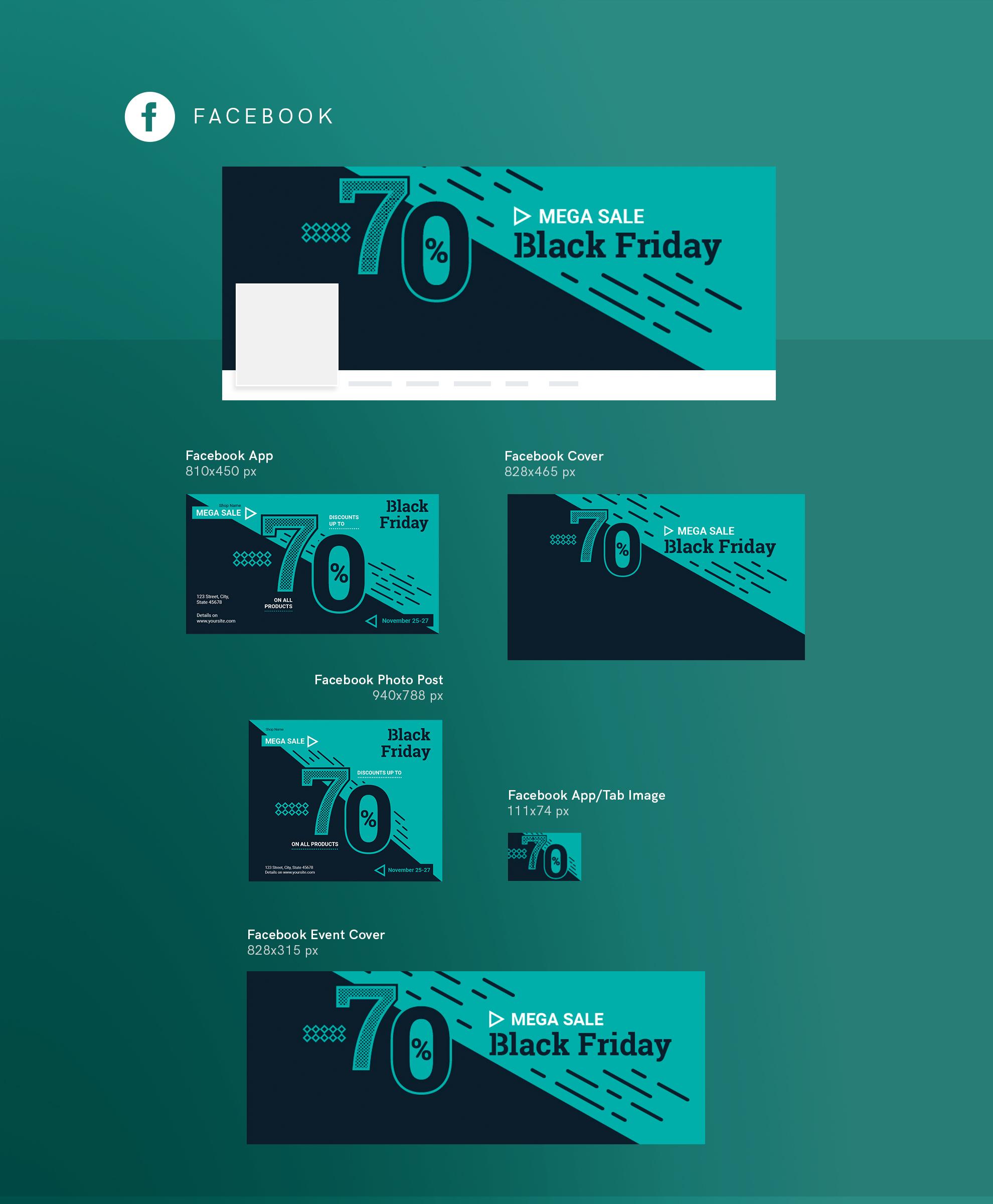 Black Friday Sale Design Templates Bundle example image 9