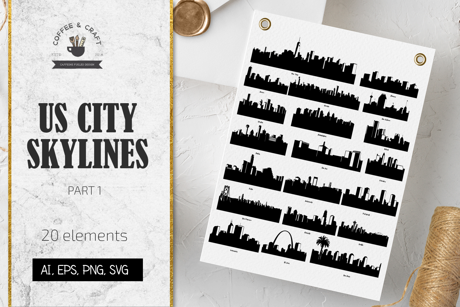 US City Skylines Part 1 example image 1