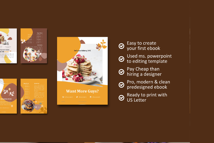 Recipe eBook Creator with Instagram and Youtube Kit example image 5