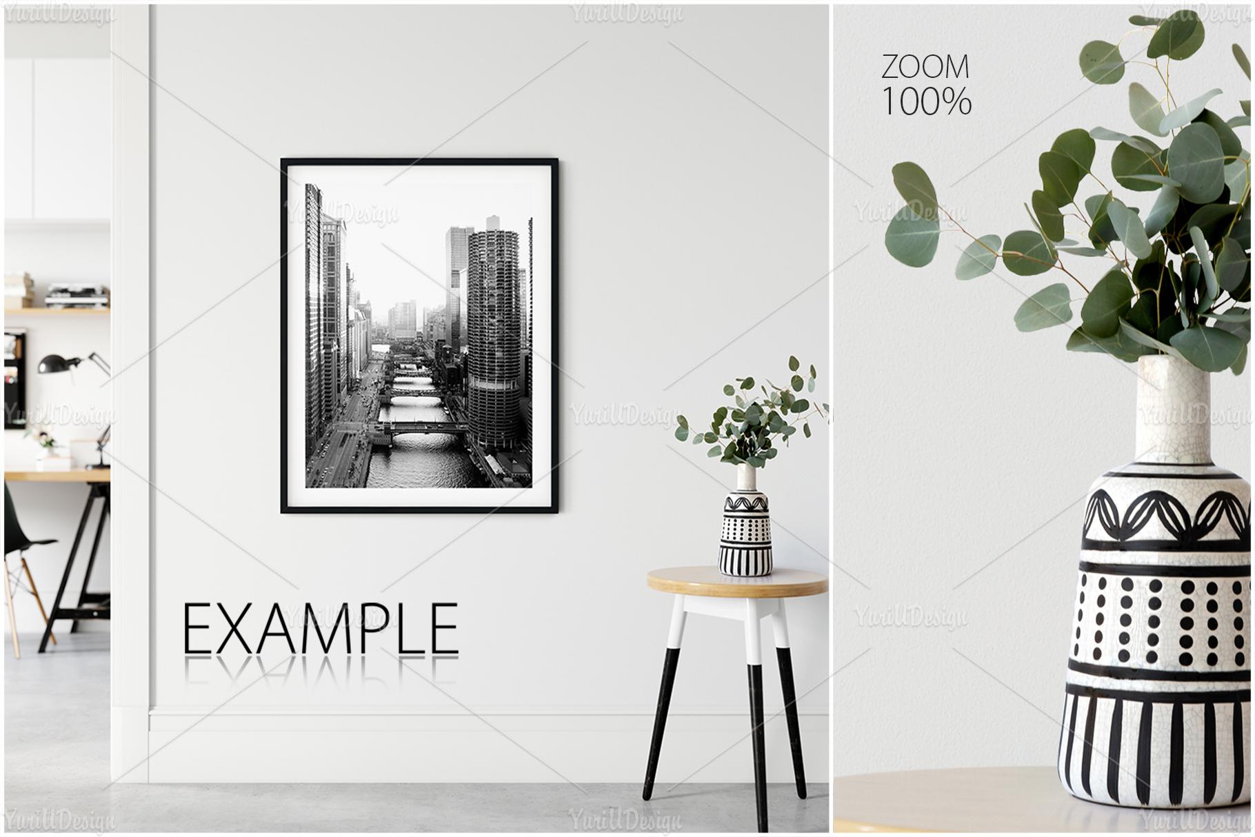 Scandinavian Interior Frames & Walls Mockup Bundle - 3 example image 15