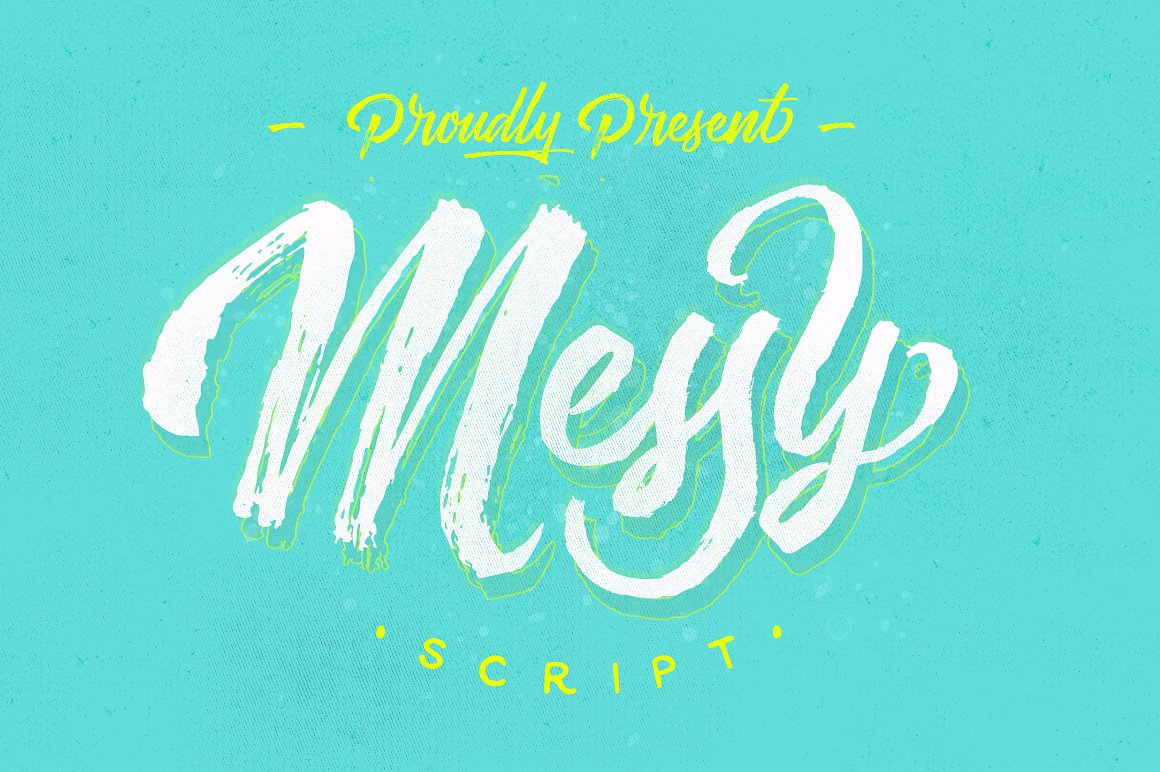 Messy Script example image 1