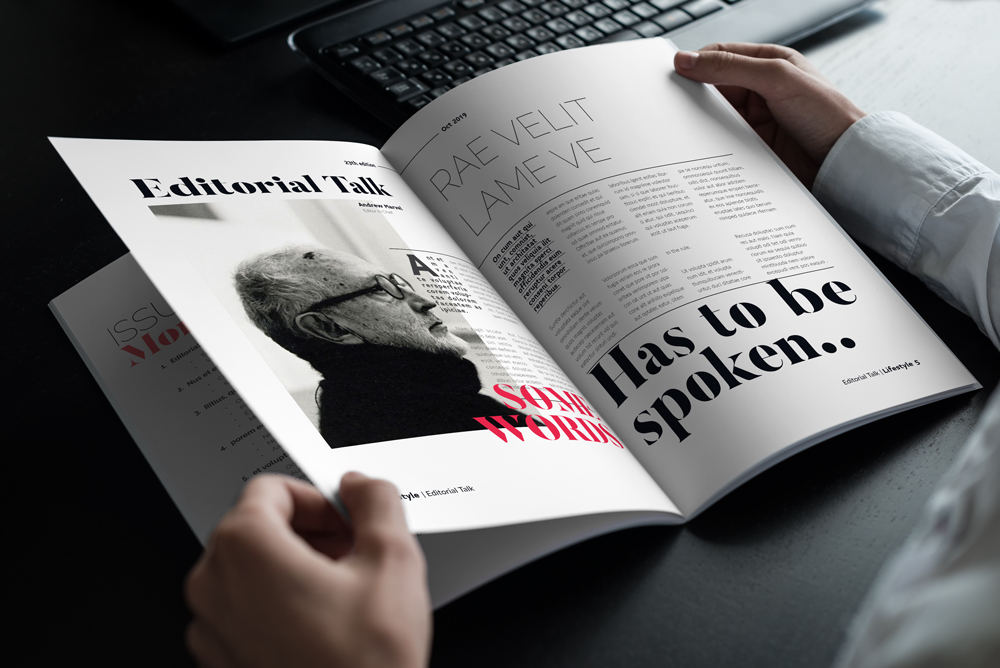 Fashion Magazine Layout Template example image 22