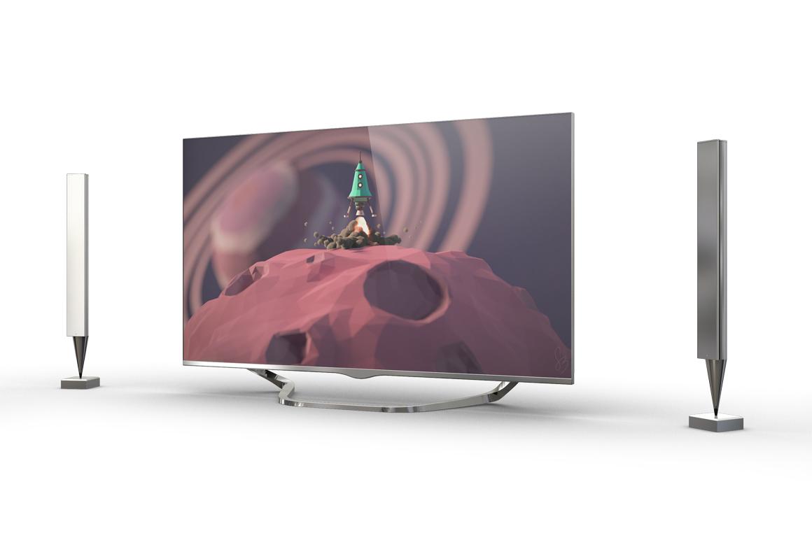 Smart TV Mockup example image 7