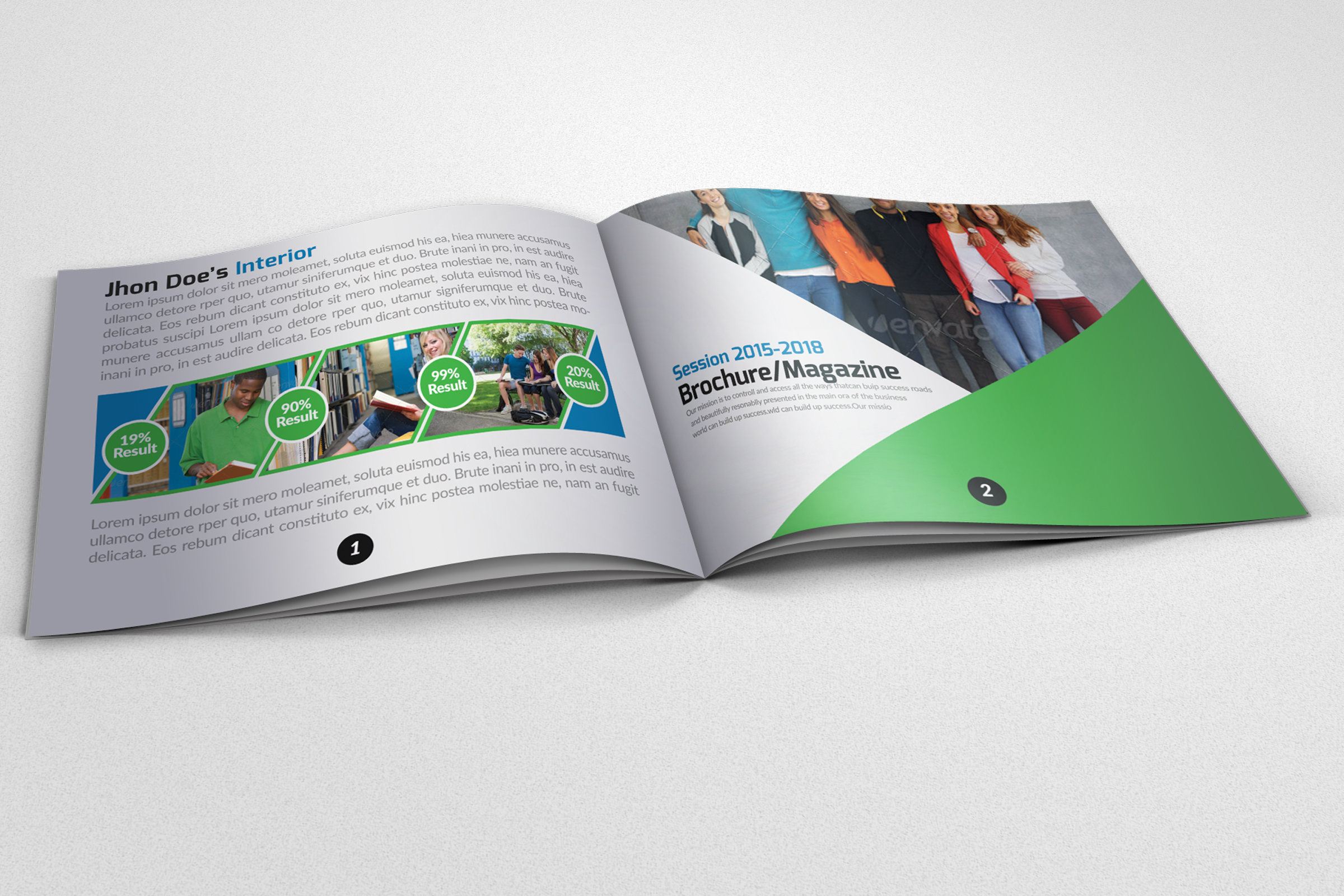 20 Pages Catalogue Education Bifold Brochure example image 5