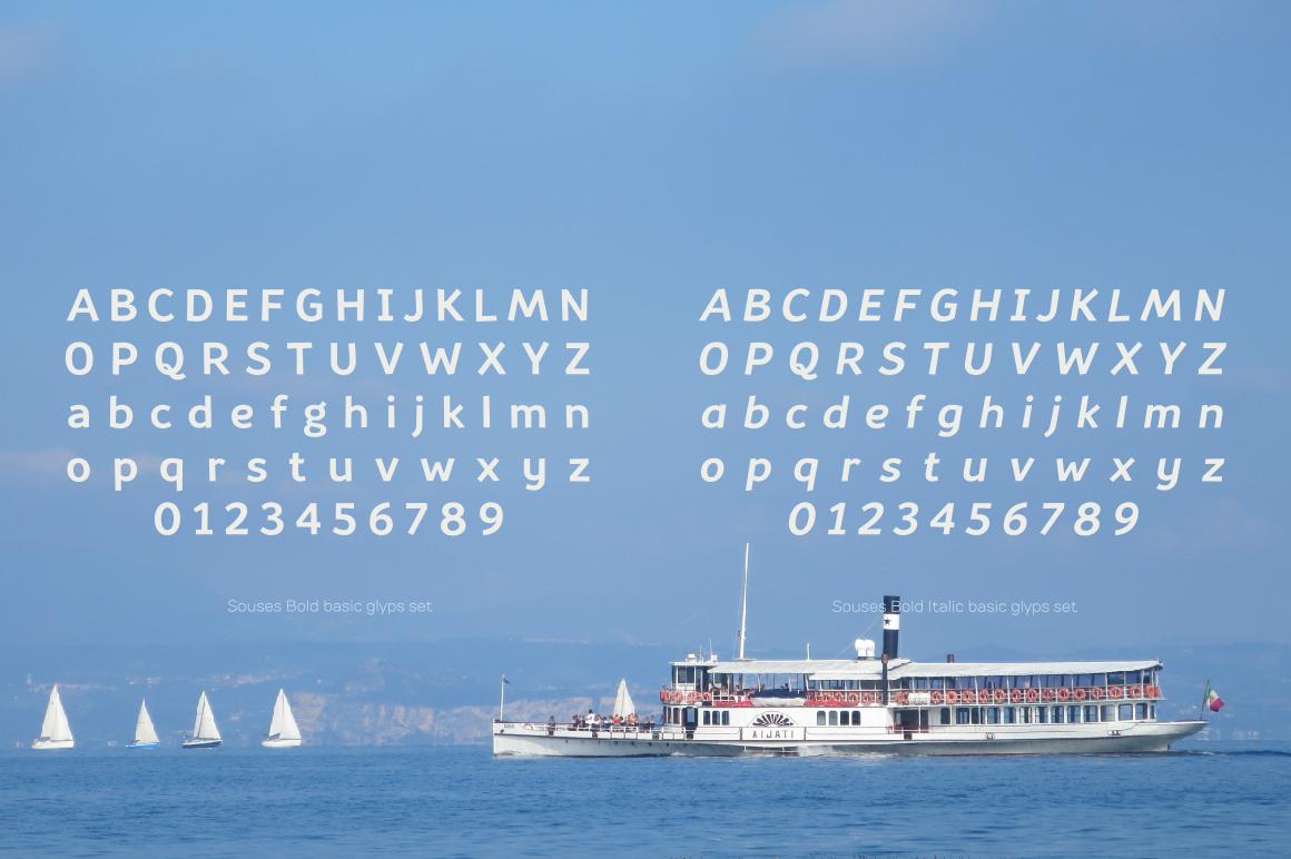 Souses — Bold & Bold Italic example image 3