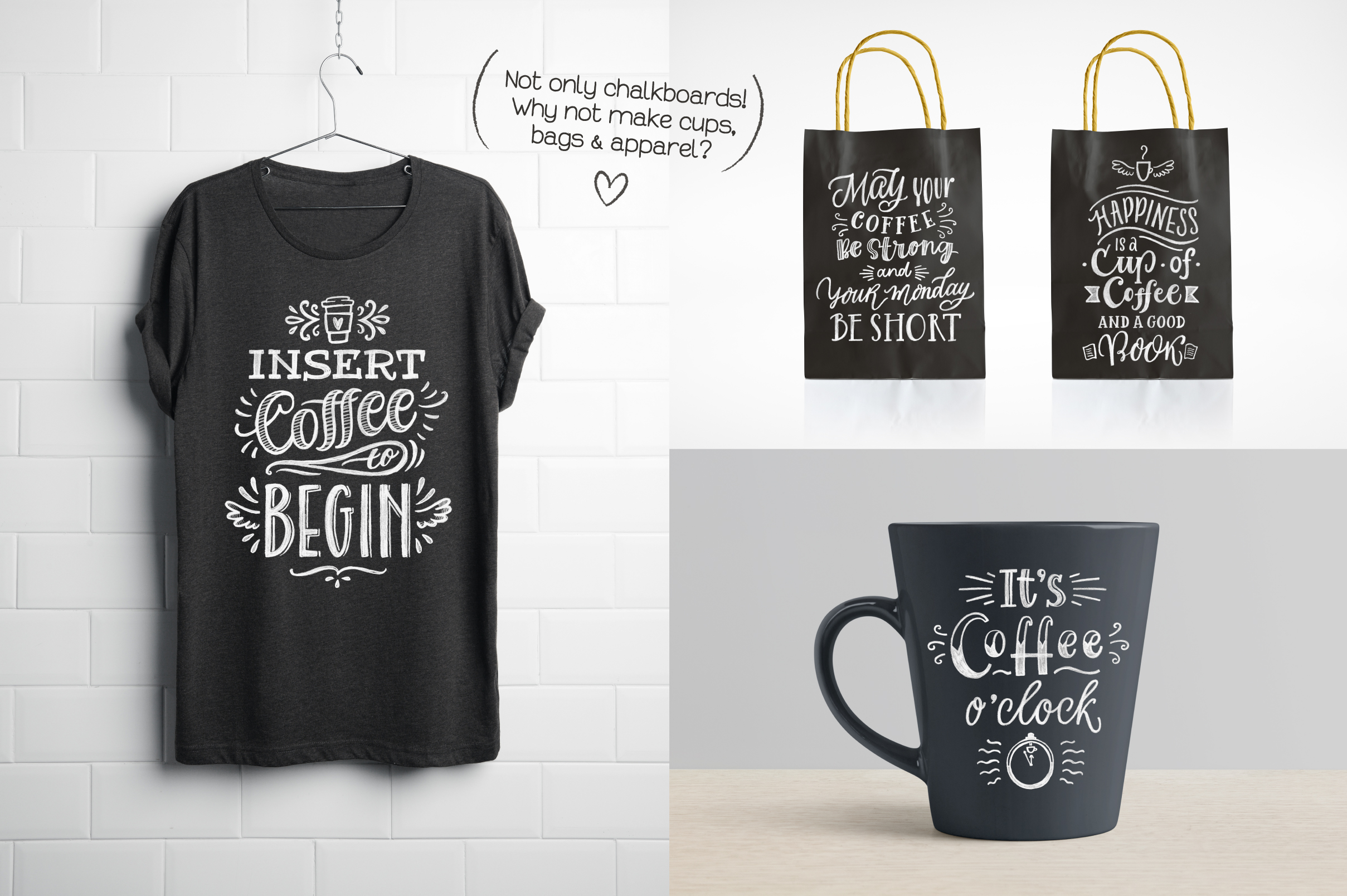 Coffee Chalk Letterings example image 6