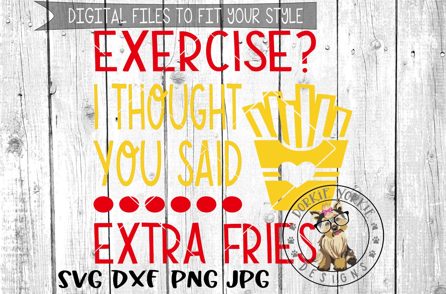 I work out, just kidding BUNDLE - Gym, funny, workout - SVG example image 10