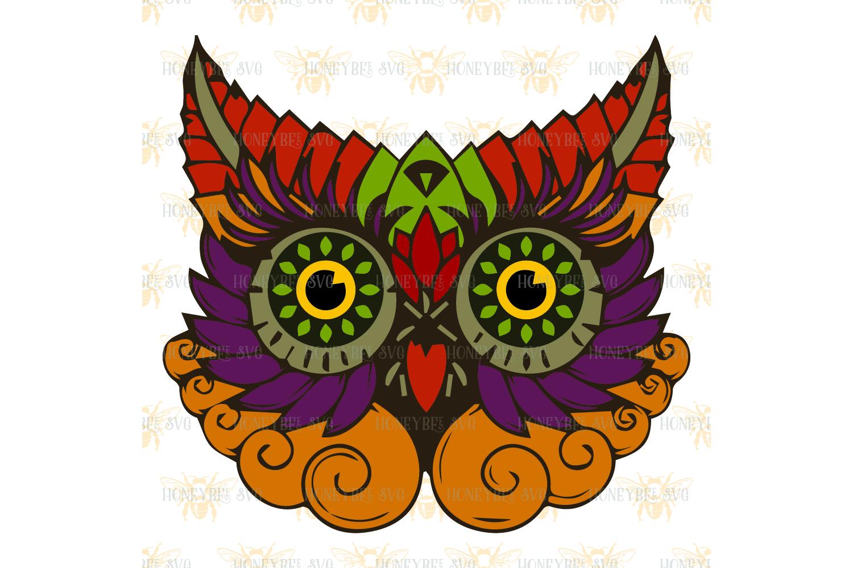 Beautiful Owl svg example image 2