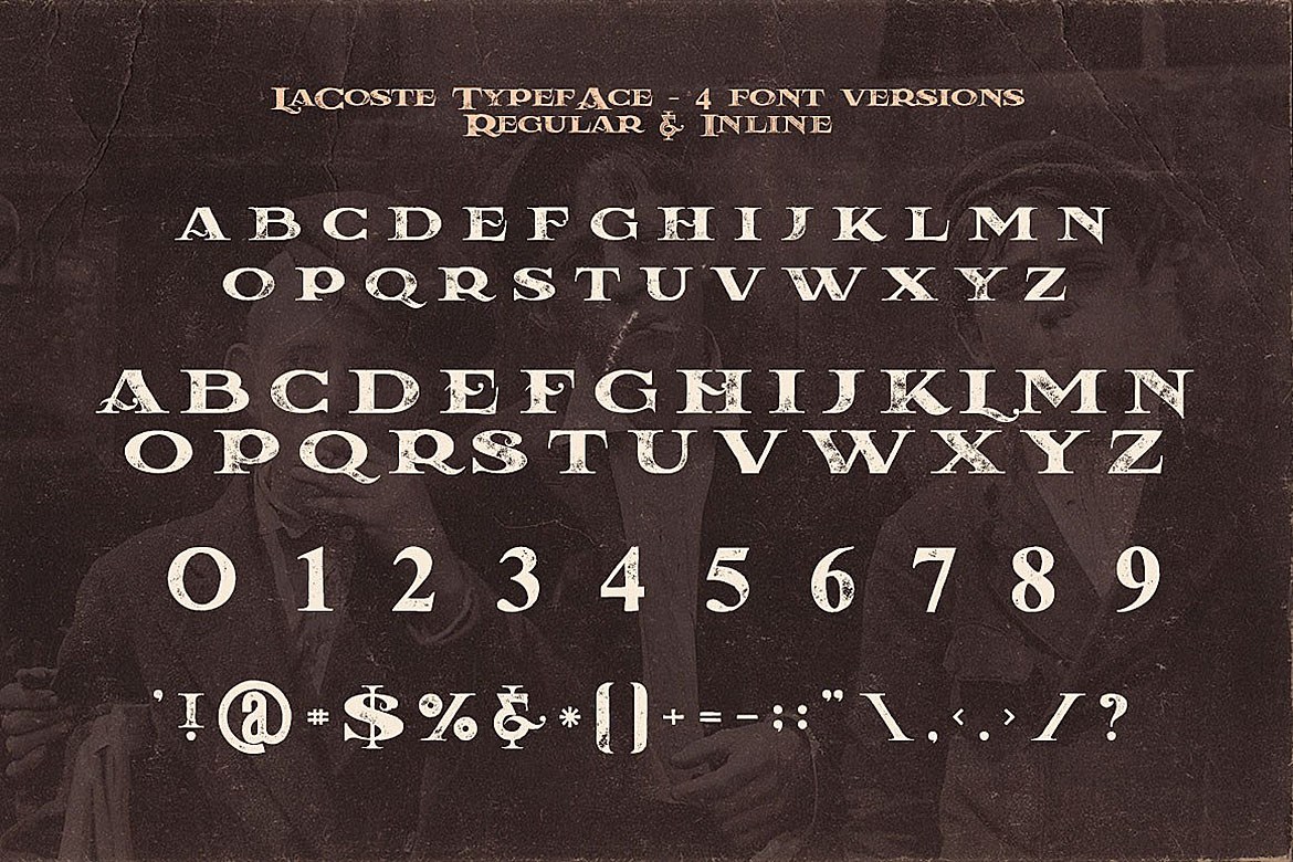 LaCoste Typeface example image 2