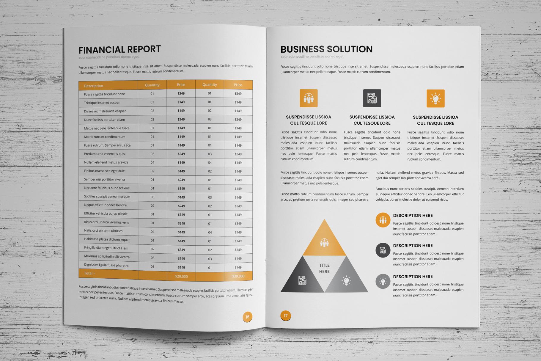 Annual Report Design v6 example image 11